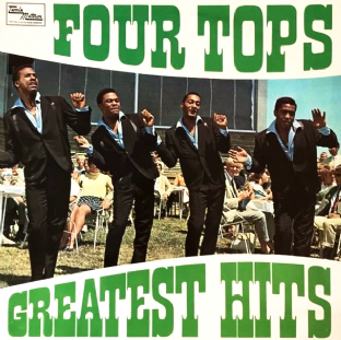 Four Tops - Greatest Hits (LP) (G+/G++)